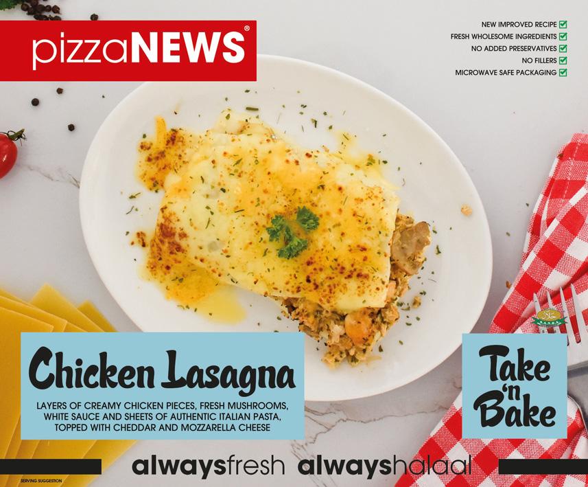 Frozen Food Chicken Lasagna Take n Bake pizzaNEWS