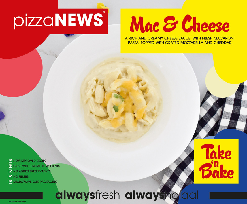 Frozen Food Mac and Cheese Take n Bake pizzaNEWS